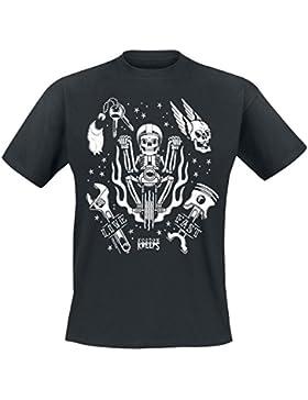 Kustom Kreeps GT Live Fast Camiseta Negro XXL