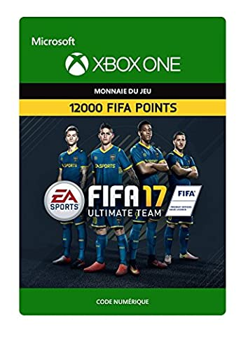 Pack Xbox Fifa - FIFA 17 Ultimate Team - 12000 Points
