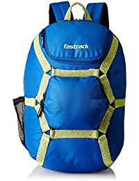 Fastrack 29.89 Ltrs Blue Casual Backpack (A0624NBL01)