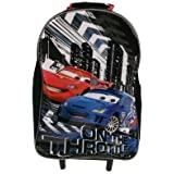 Disney Cars Trolley Bag | Lightning Mcqueen Wheeled Bag by Trade Mark Collections