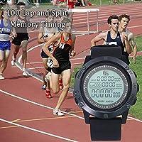 Further Cronometro Sportivo Digitale, Timer Impermeabile all'Acqua Occasionale, Luminoso, cronometro di Allarme, Orologio da Calcio, cronometro Sportivo per Allenatori, Attrezzatura da Arbitro