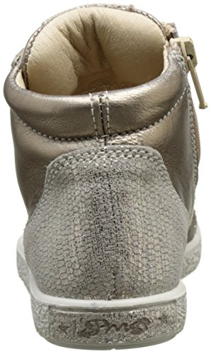 Primigi Pho 7576, Baskets Hautes Fille Beige (Taupe/Platino)