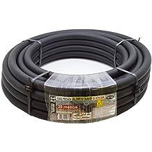 S&M 012273 - Tubería polietileno alimentario, 32 x 10 atm - 25 m, color negro