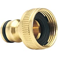 "Draper 36198 Brass Garden Hose Tap Connector (3/4"")"