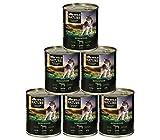Dehner Wild Nature Hundefutter Adult, Bergweide, 6 x 400 g (2.4 kg)