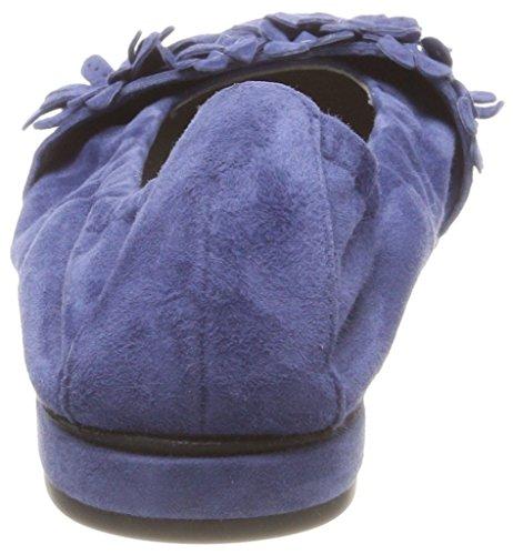 Kennel und Schmenger Damen Malu Geschlossene Ballerinas, Blau (Indigo)