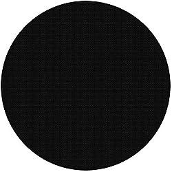 Piscine Feuille solaire ronde Ø 5m noir Couverture de piscine Feuille solaire Chauffage de piscine