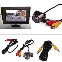 Impermeabile HD 170 gradi di visione grandangolare che inverte macchina fotografica di visione notturna compatibile per auto, camion, camper, mini-van 6M fili di collegamento