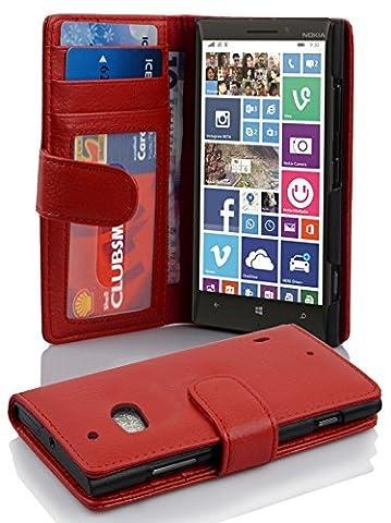 Housse Protection Nokia Rouge - Cadorabo - Nokia Lumia 930 Etui en