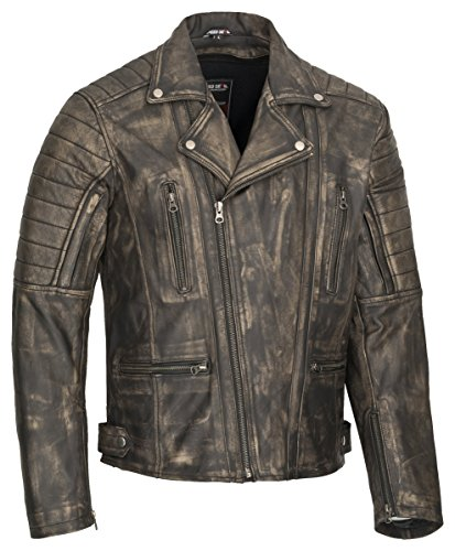 MOTORRAD LEDERJACKE SPEED DEVIL HERO