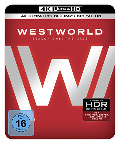 Westworld Staffel 1: Das Labyrinth (Steelbook) – Ultra HD Blu-ray [4k + Blu-ray Disc] - 3