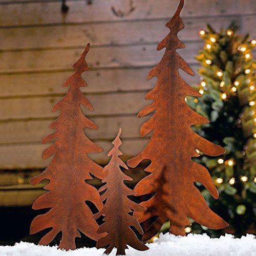 weihnachtsdeko-gartenstecker-set-tannenbaum-metall-rost-optik-3-stueck-2