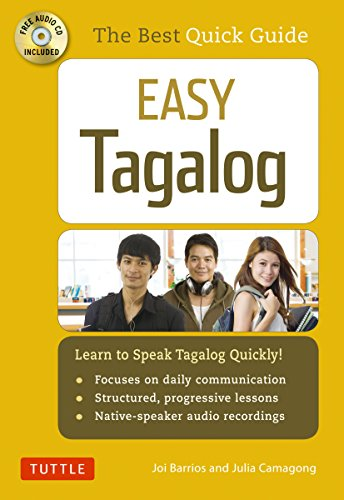 Easy Tagalog: Learn to Speak Tagalog Quickly (CD-ROM Included) (Easy Language)