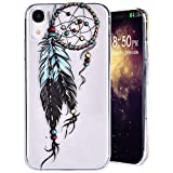 Coque Peint For IPhone XR 2018, MeganStore Coque en Relief Attrape-rêves Transparent...