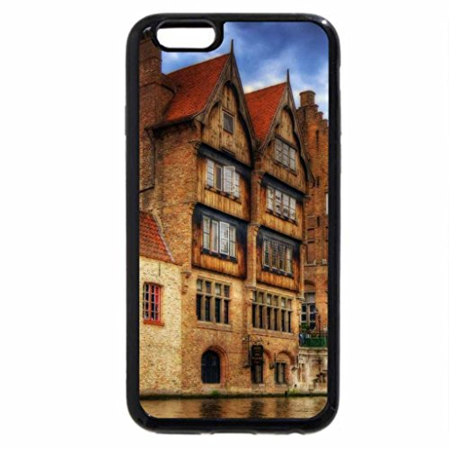 iPhone 6S / iPhone 6 Case (Black) canal in bruges belgium hdr