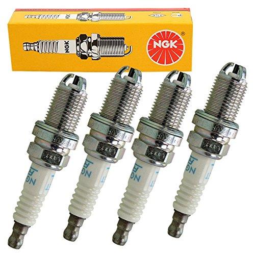 4X Ngk 2397 Candela D'Accensione Bkur6Et-10