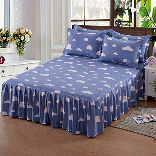 huyiming Verwendet für Heimtextilien Bett Rock Bettdecke Bettwäsche Bettdecke Typ Cloud Walk 1,0x2,0 Meter Bett (Bett Rock)