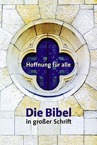 Die Bibel in großer Schrift. (Großformat)
