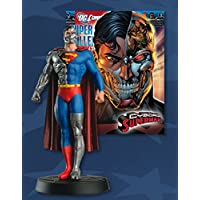 DC Comics - Figura de Plomo DC Comics Super Hero Collection Nº 42 Superman Cyborg