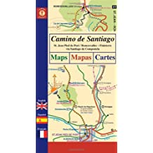 Camino de Santiago Maps / Mapas / Cartes: St. Jean Pied de Port/Roncesvalles - Finisterre via Santiago de Compostela (Camino Guides) by John Brierley (2008-04-01)