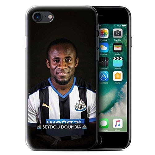Officiel Newcastle United FC Coque / Etui Gel TPU pour Apple iPhone 7 / Wijnaldum Design / NUFC Joueur Football 15/16 Collection Doumbia