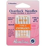 Aiguilles: Overlock Machine de Type G