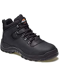 MENS DICKIES FURY SAFETY WORK HIKER BOOTS LADIES STEEL TOE CAP SIZE UK 4-12 UK