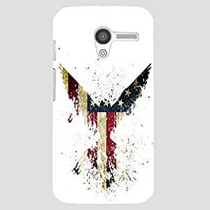 Back cover for Moto X (1st Gen) American Eagle