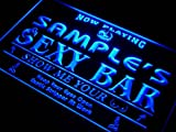 qk-tm Name Personalised Custom Sexy Bar Now Playing Stripper Bar Beer Neon Sign