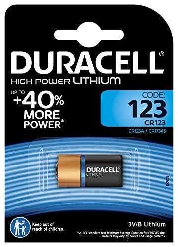 Duracell Ultra/Ultra Lithium  Batterie 123 (CR17345) 1er Duracell Lithium 123