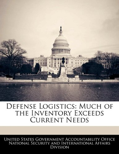 Defense Logistics: Much of the Inventory Exceeds Current Needs