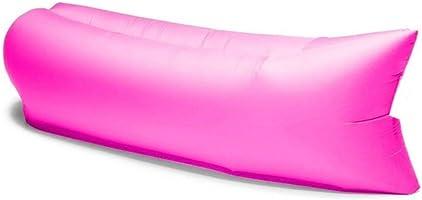 Şezlong şişme koltuk şişirilebilir Sofa şişirilebilir Air Bed Lazy su geçirmez notebook için taşıma çantası Kamp plaj...