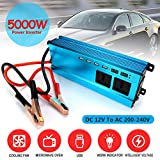 #4: Fansport Car Power Inverter 5000W DC 12V to 220V Power Converter Voltage Converter