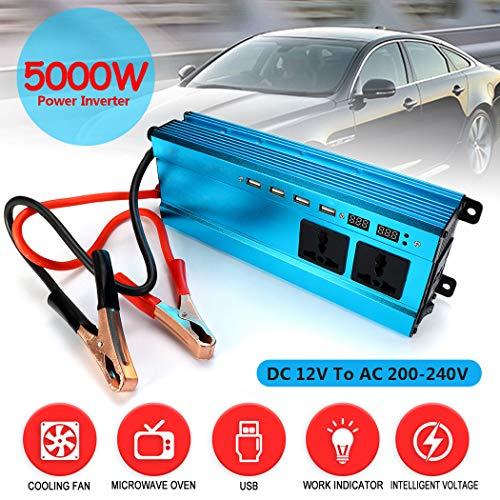 Fansport Auto Power Inverter 5000 Watt DC 12 V Zu 220 V Power Converter Spannungswandler -