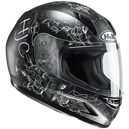 HJC Helmets Casco Hjc CLY cl de y vela MC de 5SF–Casco de Moto para Niños para niños (S (50/51))