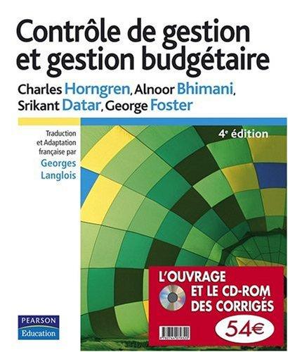Contrôle de gestion et gestion budgétaire (1Cédérom)