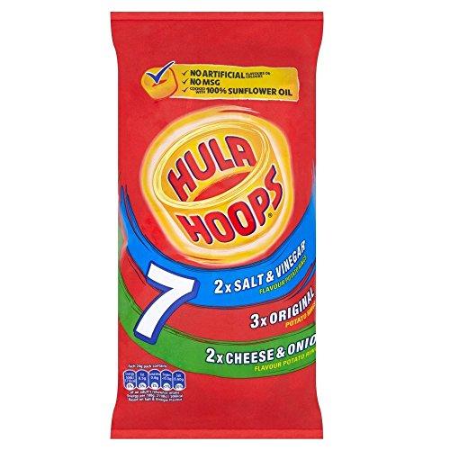 KP Hula Hoops - Vielfalt (7x24g) - Packung mit 6
