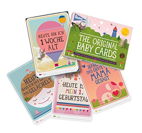 Milestone Baby Cards Erinnerungskarte - 3
