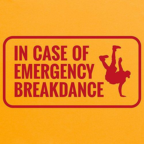 Emergency Breakdance T-Shirt, Herren Gelb