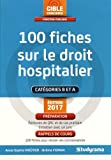 100 fiches sur le droit hospitalier...