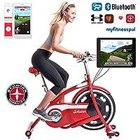 Preisvergleich für Schwinn Classic Cruiser - stylischer Heimtrainer mit neuer Technologie | Smartphone und Tablet Anbindung über Bluetooth | RideSocial & Classic Cruiser App