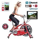 Schwinn Classic Cruiser - stylischer Heimtrainer mit neuer Technologie   Smartphone und Tablet Anbindung über Bluetooth   RideSocial & Classic Cruiser App
