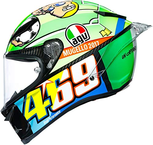 Agv pista GP R rossi Mugello 2017 Carbon Limited Edition