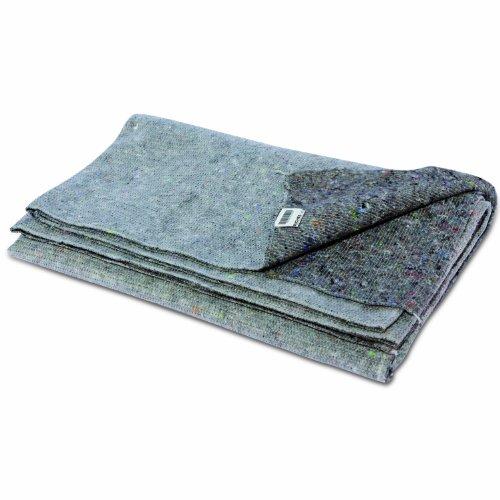 Preisvergleich Produktbild 5x Packdecken 150x250cm (3,75 m²) 59.1x98.4 Inch, Typ 320,Möbelpackdecken,  Möbeldecken, Umzugsdecken, pack blanket