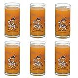 Gläser Indianer Indianerglas 6 Trinkgläser mit Indianermotiv von Markus Binz im Set Kinderglas Trinkglas Indianer Kinderglas Kindergeschirr Geschirr für Kinder