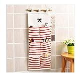 Lalang Mehrschicht Küche Badezimmer Taschen Wand Organisator Tür hängender Speicher-Beutel