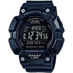 Casio Reloj Digital para Hombre de Cuarzo con Correa en Resina STL-S110H-1B2EF