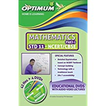 Optimum Educational DVDs HD Quality for Std 11 CBSE Mathematics Part 1
