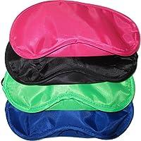 Grosspackung Schlafbrillen / Schlafmasken, angenehme Seidencharmeuse (Satin-ähnlich), 19 cm x 8,5 cm, (4 in 4... preisvergleich bei billige-tabletten.eu