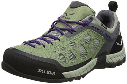 Salewa Damen WS Firetail 3 Gore-Tex Kletterschuhe, Mehrfarbig (Siberia/Purple Plumeria), 39 EU